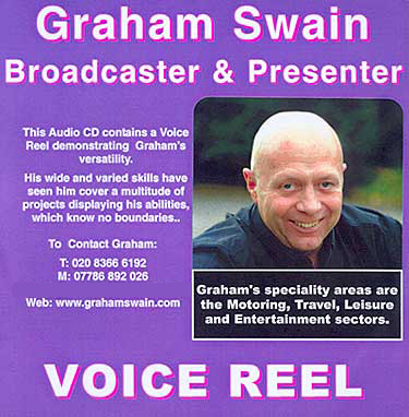 Graham Swain Voice Reel CD