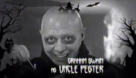 Graham Swain as Uncle Pester
